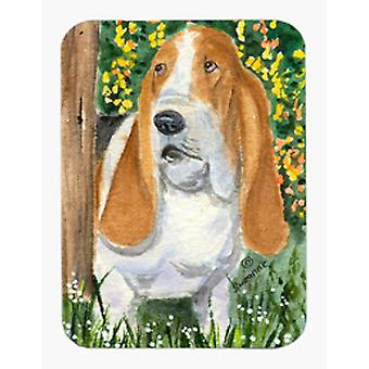 Basset Hound del Mouse Pad / Hot Pad / sottopentola