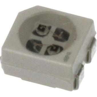 SMD LED PLCC4 Red, Yellow 315 mcd, 495 mcd 120 ° 3