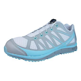 Salomon Hiking Trainers Kalalau Womens Walking Shoes - Light Grey