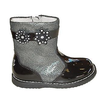 Lelli Kelly Girls Linda LK3338 Black Patent laarzen
