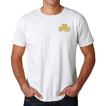 The South Irish Horse Embroidered Logo - Official British Army Ringspun T Shirt
