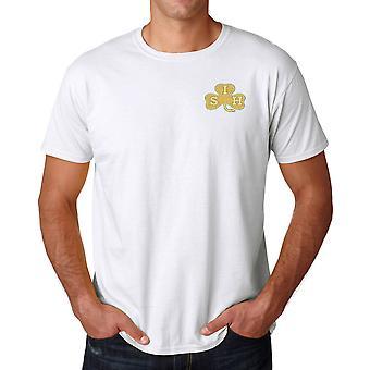 Le cheval irlandais Sud brodé Logo - armée britannique officiel Ringspun T Shirt