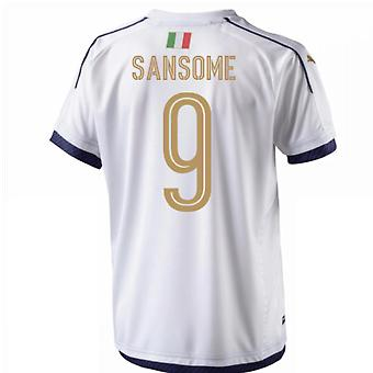 2006 Italy Tribute Away Shirt (Sansome 9) - Kids