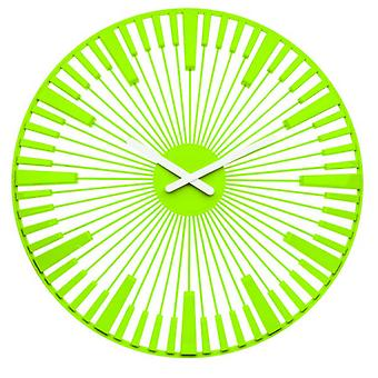 Koziol Piano Green Wall Clock