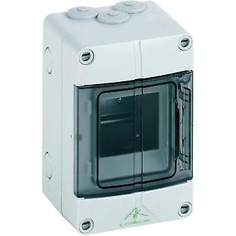 Distribution board Surface-mount No. of partitions = 3 No. of rows = 1 Spelsberg 73640301 AKi 03