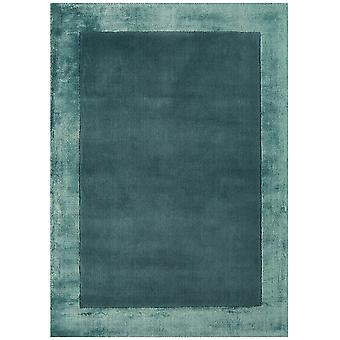 Adana Aqua Blue Wool & Viscose Rug