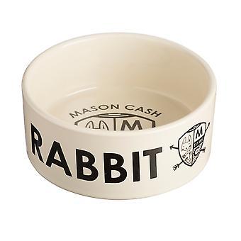 Mason Cash kanin skål vapensköld 12cm (förpackning med 6)