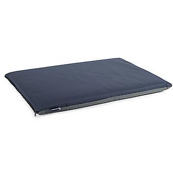 Sömnig tassar vattentät Pad blå/grå 122 X76cm