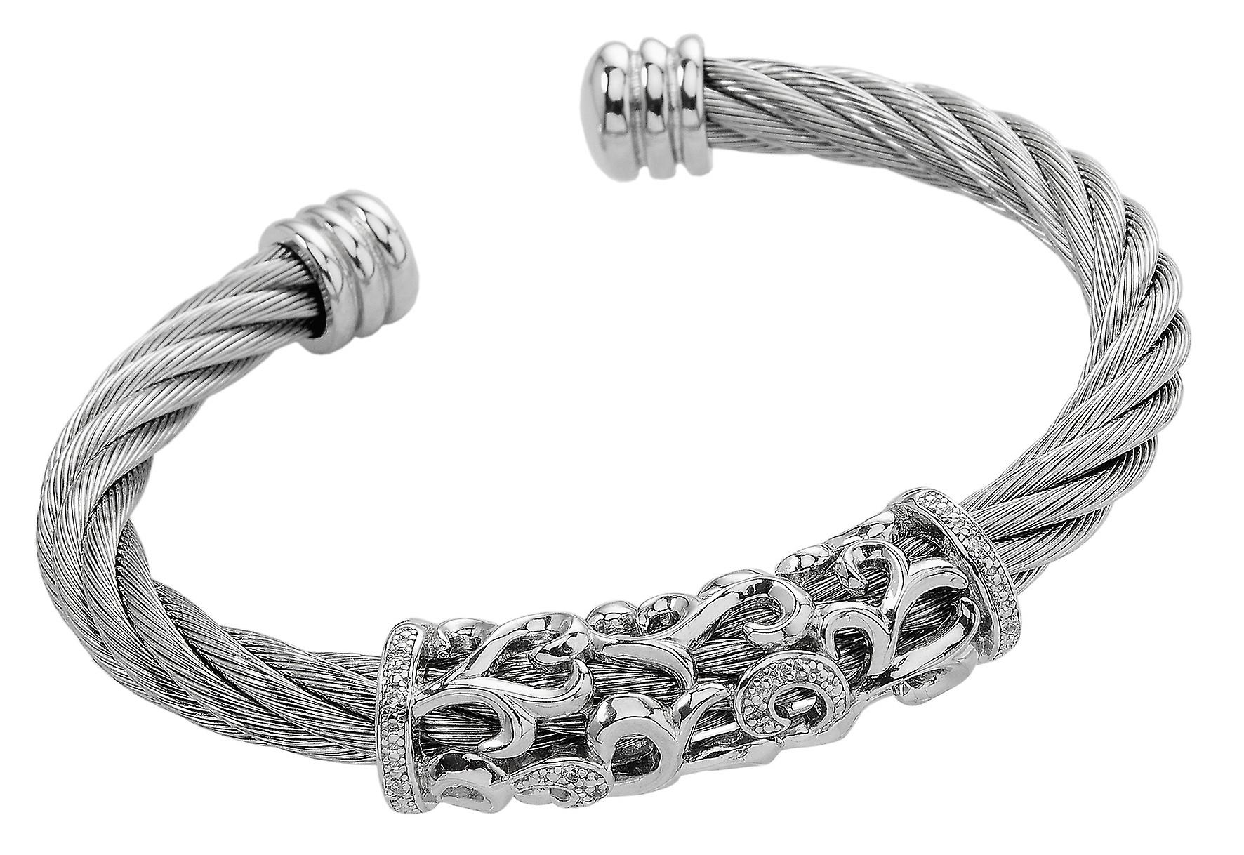 Burgmeister Bangle with Cubic Zirconia JBM3027-521