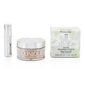 Clinique Blended Face Powder + Brush - No. 03 Transparency; Premium price due to scarcity - 35g/1.2oz