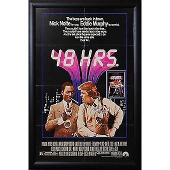 48 hrs - signé Movie Poster