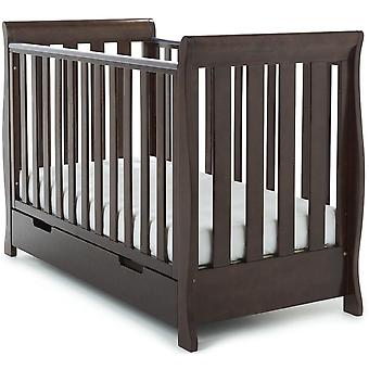 Obaby Stamford Mini Cot Bed - Country Pine