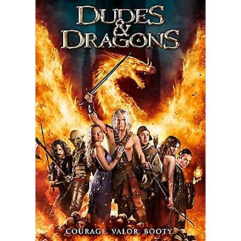 Dudes & Dragons [DVD] USA import