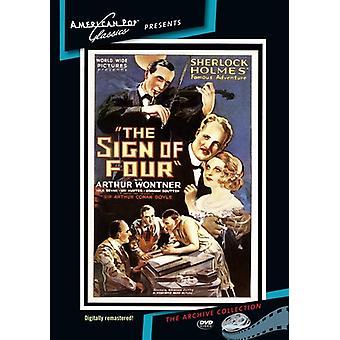 Sherlock Holmes: Signo de cuatro importación de Estados Unidos [DVD]