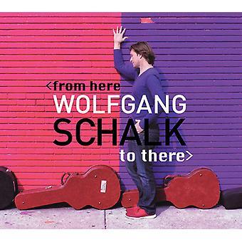 Wolfgang Schalk - fra her til der [Vinyl] USA importerer