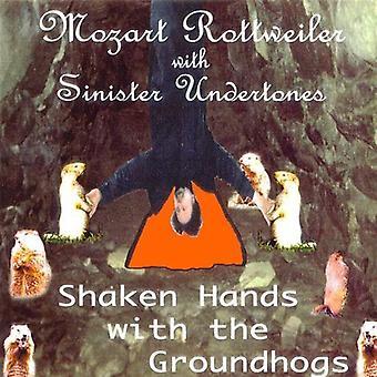 Rottweiler/Sinister Untertönen - Hand geschüttelt, mit den Groundhogs [CD] USA import