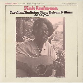 Różowa Anderson - różowy Anderson: Carolina Medicine Show Hokum & niebieski [CD] USA import
