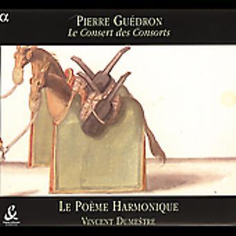 P. Guedron - Pierre Gu Dron: Le Consert Des Consorts [CD] USA import