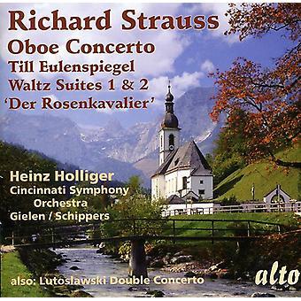 R. Strauss - Richard Strauss: Concierto de Oboe; Hasta Eulenspiegel; Vals Suites Nº 1 y 2; Importación de USA de Der Rosenkavalier [CD]