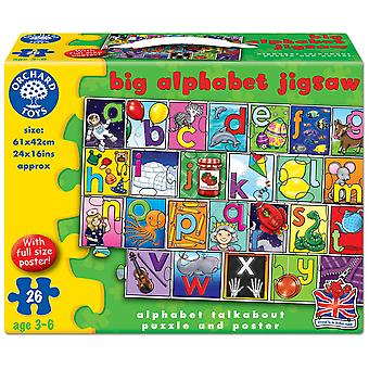 Orchard Toys Big Alphabet Puzzle