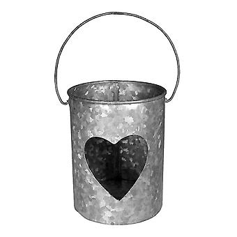 Single Heart Candle Votive