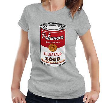 Pokemon Pop Suppe kann Grass Edition Damen T-Shirt