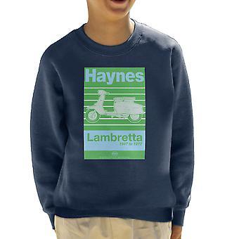 Camisola de Haynes proprietários Workshop Manual Lambretta 47 a 72 infantil