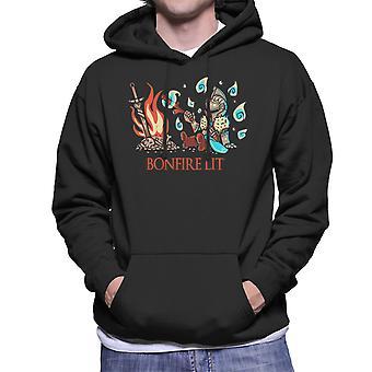 Dark Souls Bonfire Lit Men's Hooded Sweatshirt