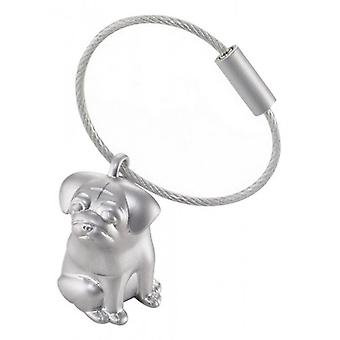 Troika Henry Key Ring - Silver