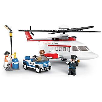 Sluban Personal Helicopter Aviation Station (Toys , Constructions , Vehicles)