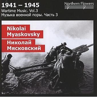 St.Petersburg State Academic symfoni orkestret - krigstid 3: Nikolai Y. Miaskovsky - symfoni [CD] USA import