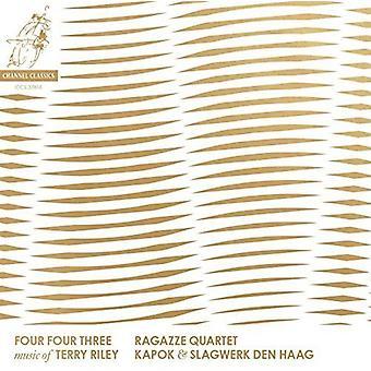 Ragazze kvartetten - fire fire tre-musik af Terry Riley [CD] USA import