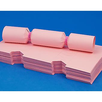 100 MINI Flamingo PInk Make & Fill Your Own Cracker Boards