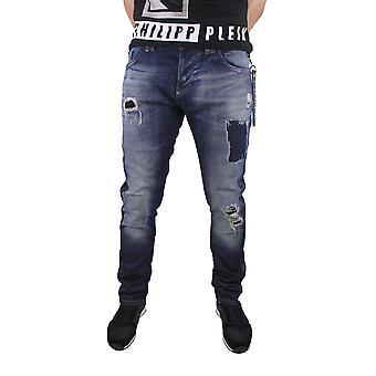 Philipp Plein HD112499 mercurio 14HB infierno Blue Jeans