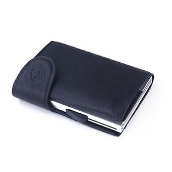 Woodland Leathers Black Leather Wallet and C-Secure Cardprotector