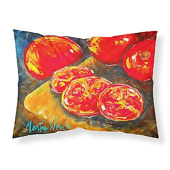Vegetables - Tomatoes Slice It Up Moisture wicking Fabric standard pillowcase