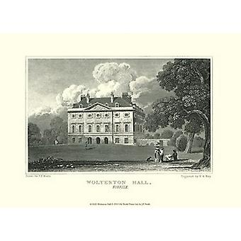 Wolterton Hall Poster Print by J p Neale (13 x 10)