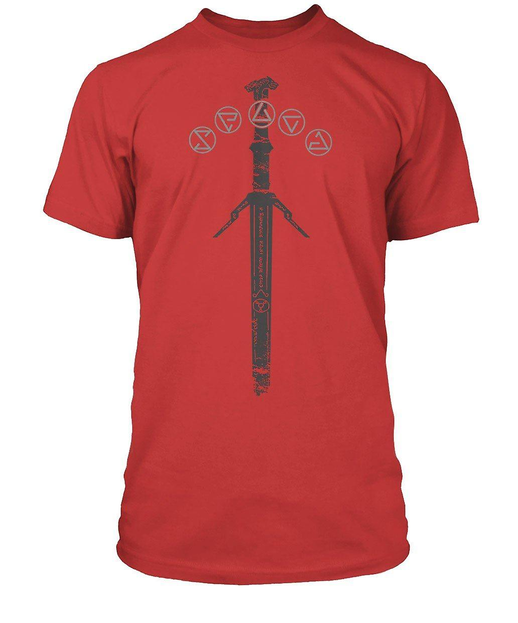 The Witcher 3 Silver Sword Premium Tee SMALL