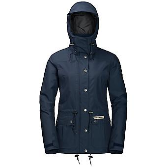 Jack Wolfskin Womens Merlin XT jas blauw van de middernacht (Medium)