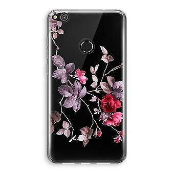 Huawei Ascend P8 Lite (2017) Transparant Case - Pretty flowers