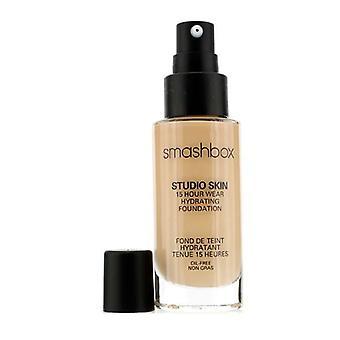 Smashbox Studio Skin 15 timmars slitage Hydrating Foundation-# 1,2 (Fair ljus med varm underton)-30ml/1oz