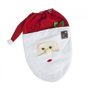 Novelty Festive Santa Toilet Seat Cover Christmas Decoration