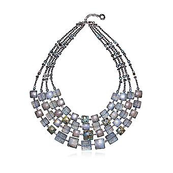 Antica Murrina ladies CO883A12GRIGIO grey steel Hall chain
