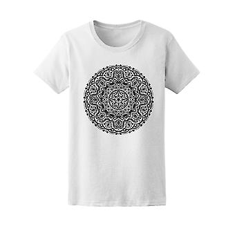 Ornament Indian Lace Mandala Tee Women's -Image by Shutterstock