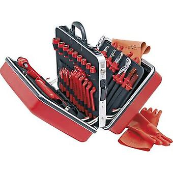 Electrical contractors Tool box (+ tools) 48-piece Knipex
