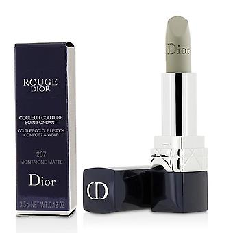 Christian Dior Rouge Dior Couture färg komfort & slitage Matt läppstift - # 207 Montaigne Matt - 3.5g/0.12oz