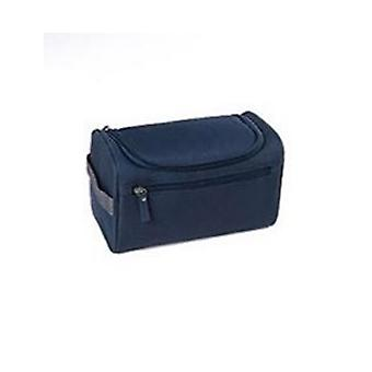 Travel Cosmetic Make up Toiletry Case Blue Wash Bag Organiser Pouch