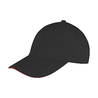 Result Core Unisex Adults Memphis Sandwich Peak Cap