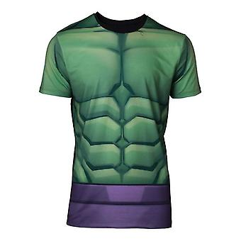 Mens Marvel Comics Incredible Hulk Sublimation T-Shirt Small (TS668121MVL-S)