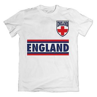 England Shield Logo T-Shirt (weiß)